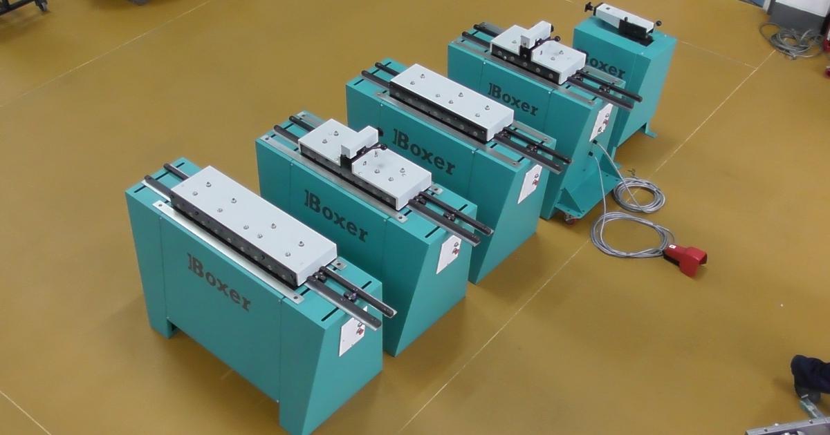 Boxer lockformers